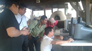 donación de computadoras a San Lucas Atoyaquillo